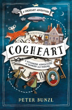 Book cover - Cogheart by Peter Bunzl