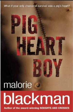 Book cover - Pig Heart Boy by Malorie Blackman